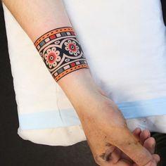 Cuff tattoo for Finley