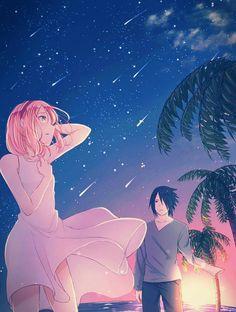 Sasuke and Sakura Uchiha Wallpaper ♥♥♥ #Cool #Cute #Love #Couple #together