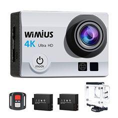 #elettronica   Action Cam WiMiUS Fotocamera Subacquea 4k HD 16MP Action Camera WIFI Videocamera Impermeabile con Telecomando 2.4G  2 Batterie  25 accessori (Nero)   35.99 (-64% di 99)   fino al 16 01 2018 22:05   https://www.amazon.it/gp/product/B01MXPTIKL?tag=frco07-21