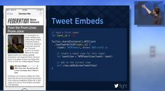 How to embed Tweets in your mobile app content #twitterflight