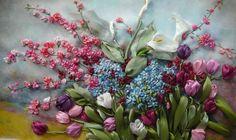 Painting ribbons, Lyudmila Deyneko. Discussion on LiveInternet - Russian Service Online Diaries