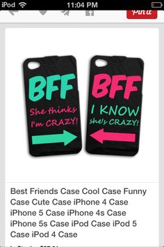 29e803201d5 CATILIN  me and Sarahs cellphone case mines left