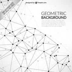 Geometric background in network style Premium Vector Globe Vector, Art Web, Newsletter Design, Connect The Dots, Web Inspiration, Site Internet, Geometric Background, Cartography, Plexus Products