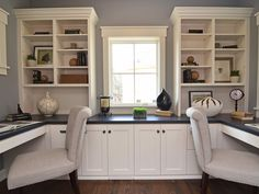 Move the built-ins to the right side and leave both the left and ...