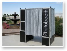 modern photo booth