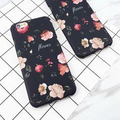 Classical Retro Flowers iPhone Case