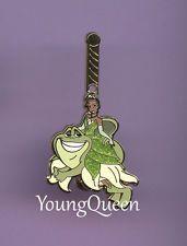 Disney Princess Carousel Tiana Riding Naveen Horse Reveal Conceal Mystery Pin