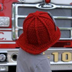 firefighter baby pictures   Firefighter Helmet Pattern
