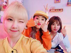 Gfriend Yerin,  Cao Lu,  Kisum