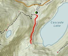 Cascade Falls Trail is a 1.4 mile lightly trafficked out and back trail located…