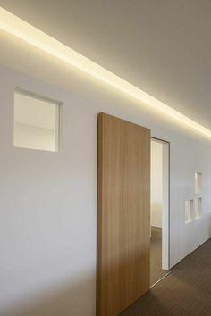 porte en bois à l'intérieur de l'intérieur des idées de design d'ambiance moderne