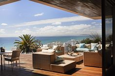 Ellerman House is an award-winning offering comprised of a luxury boutique hotel and two secluded exclusive-use villas overlooking Bantry Bay in Cape Town. Outdoor Rooms, Outdoor Furniture Sets, Outdoor Decor, Spa, Cape Town, Villa, Patio, Atlantic Ocean, Luxury Hotels