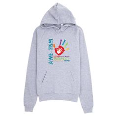 Just in...Awe-Tism Hoodie. For a limited time ONLY. Check them out here! http://www.firejoycreations.us/products/hoodie?utm_campaign=social_autopilot&utm_source=pin&utm_medium=pin