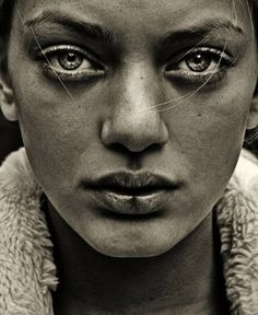 """""""Sweden"""" gritty female portrait photo by Federica Erra Beautiful Eyes, Beautiful People, The Face, Many Faces, Interesting Faces, People Around The World, Belle Photo, Black And White Photography, Character Inspiration"""