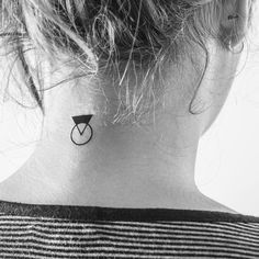 Tattoo • Triangle & Circle •