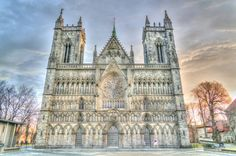 Visiting the Beautiful City of Trondheim, Norway and the Nidaros Cathedral Monumental Architecture, Trondheim Norway, Norway Travel, Asia Travel, Visit Norway, Famous Places, Kirchen, Bergen, Amazing Destinations
