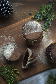 Chocolate Maca Muffins