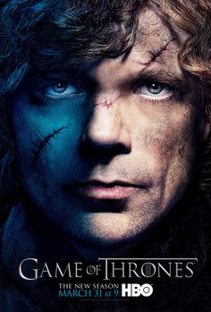 Tyrion - Game of Thrones Season 3 - character poster