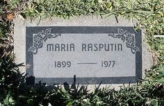 Maria Rasputin - Author. Born Matryona Grigorievna Rasputina, she was the daughter of the Russian mystic Grigori Rasputin and his wife Praskovia Fyodorovna Dubrovina. Following the Russian Revolution of 1917, she wrote several memoirs about her father's life and his associations with Tsar Nicholas II and Tsarina Alexandra Fyodorovna, and about his murder.