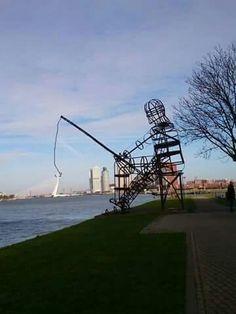 De Maas/Rotterdam.