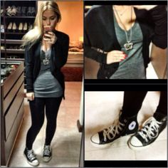 You can just never go wrong with a pair of converse...