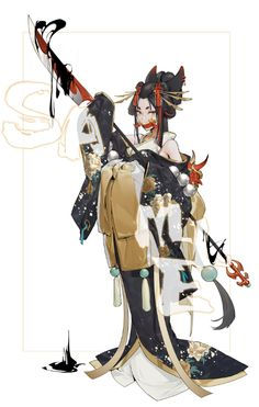 Female Character Design, Character Design References, Character Design Inspiration, Character Concept, Character Art, Concept Art, Cute Characters, Fantasy Characters, Anime Characters