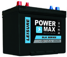 Sealed maintenance free leisure battery designed for deep discharge & recharge. Perfect for your motorhome or boat.