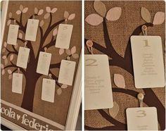 Tableau albero stoffa
