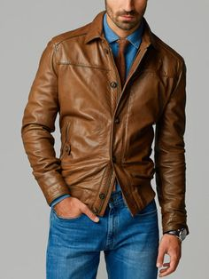 NAPPA LEATHER JACKET - - Spain