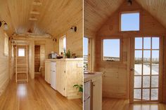 trailer homes tiny house inside. The Tiny Tack House a wooden mobile home built on a trailer. trailer homes tiny house inside Building A Tiny House, Tiny House Plans, Tiny House On Wheels, Tiny House Movement, Porches, Micro House, House Inside, Tiny Spaces, Build Your Dream Home