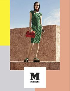 M Missoni Spring Summer 2014 - The Campaign