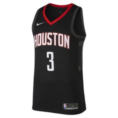 ce47dd5bcfa Chris Paul Statement Edition Swingman (Houston Rockets) Men's Nike NBA  Connected Jersey Size L (Black)