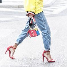Paulina Szablińska wearing our Marc Jacobs Snapshot Bag