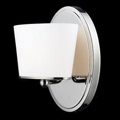 Z Lite Chimera Collection Chrome Finish One Light Vanity Light