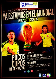 #colombia #brasil2014