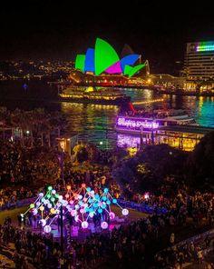 Vivid Sydney 2015 ~ From Cahill