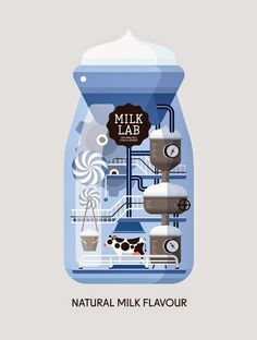 Good design makes me happy: Project Love: Milk Lab