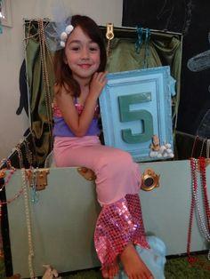 Real Mermaid Party #Mermaid #Ariel #Disney #party