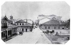 Largo de São Bento, 1887