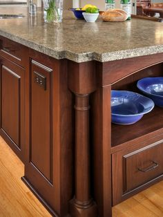 Hidden Kitchen Outlets Design Ideas, Pictures, Remodel, and Decor - page 2 Hidden Kitchen, New Kitchen, Kitchen Ideas, Kitchen Inspiration, Laminate Countertops, Kitchen Countertops, Kitchen Island Electrical Outlet, Kitchen Island With Legs, Kitchen Outlets