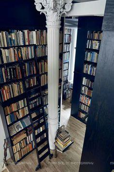 Just like pennies make dollars booksheves make libraries