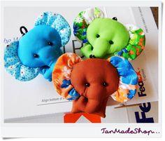10 Слон брелки брелок Слон животное по TanMadeShop