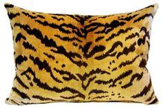 Silk    Scalamandré    Le Tigre  Pillow