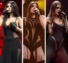 Selena Gomez, Hailee Steinfeld and Tove Lo all don sexy sheer looks at Jingle Ball -- Whose is your fave?! | toofab.com