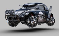 ArtStation - DARK BEETLE (flying version), Jomar Machado