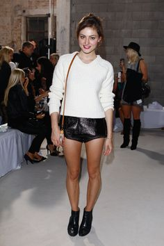 Phoebe Tonkin At Summer Fashion Show In Sydney (09.04.13)
