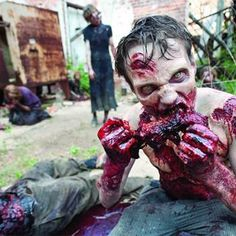 The Flesh the Walkers Eat is Ham