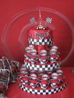 Resultado de imagem para decoracion de fiesta infantil de los cars