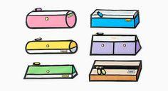 Fakus son una nueva serie de originales estuches de la tienda japonesa Bundoki que pese a su sencillo diseño llaman rápidamente la atención....