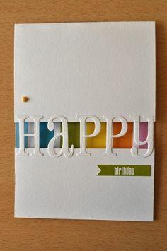 Geburtstagskarten selber gestalten - Ideen in 80 Bildern ...
